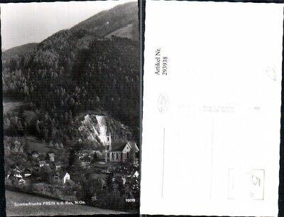 293938,prein An D. Rax Teilansicht Kirche