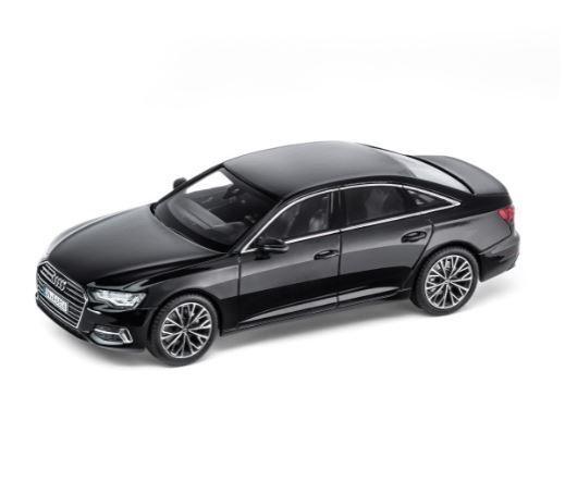seguro de calidad Audi Audi Audi A6 C8 Sedán 1 43 Coche a Escala Miniatura Mito Negro Negro 5011806132  colores increíbles