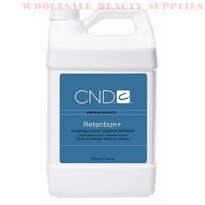 Creative CND RETENTION+ NAIL MONOMER SCULPTING ACRYLIC LIQUID - 30ml to GALLON