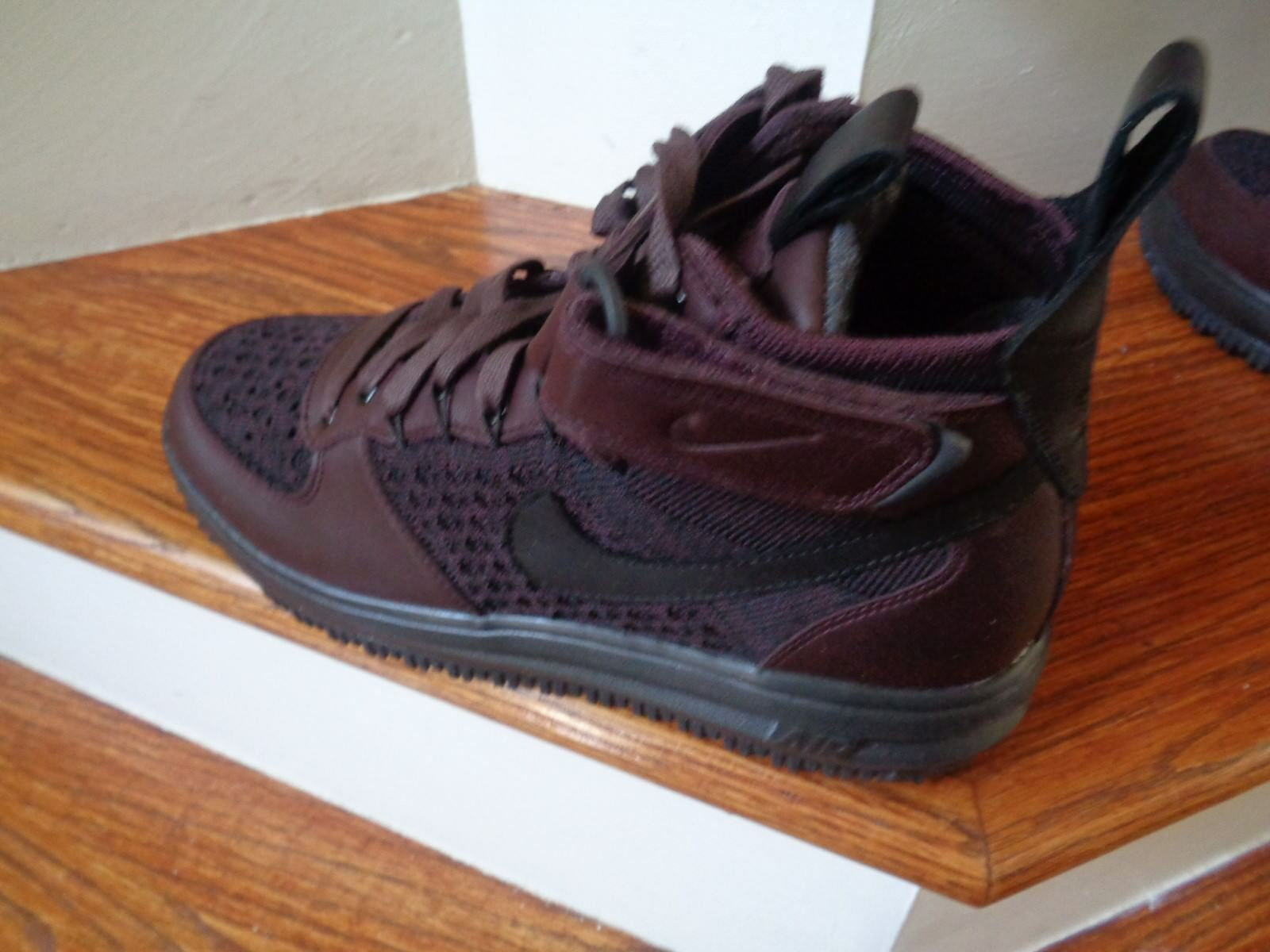 Nike Lunar Force 1 Fkyknit Workboot Men's Boots, 855984 600 Size 10 NEW