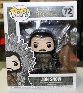 POP! Game Of Thrones #72 nouveau Jon Snow on Iron trône