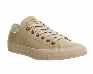 406fb619e748 Converse All Star Low Leather PASTEL ROSE TAN ROSE GOLD EXCLUSIVE ...