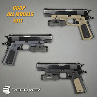 Recover Tactical 1911 Grip W/ Picatinny Rail For 1911 By Models\ Colors - Cc3p