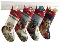 Orvis Dog Breed Needlepoint Stocking