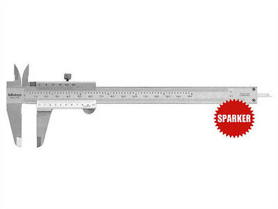 New Mitutoyo 530-118 Vernier Caliper Dual Scale Inch//Metric 0-200mm//0-8in 0.02mm