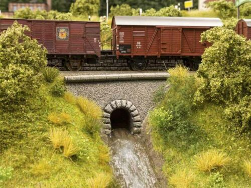 """+ nuevo en OVP Todavía 58296 agua por deja /""""túnel/"""" 2 tunnelauslässe 8 x 4,3 cm"""