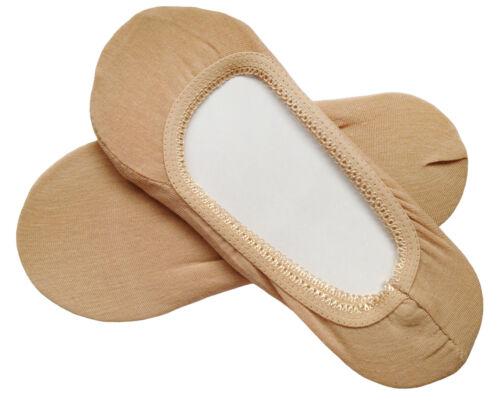 No Show Chaussettes doublures footlets Hosiery Coton EU 35-39//UK 3-6 par aurellie M1