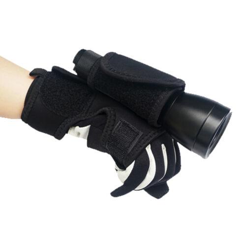 handfrei Taschenlampe Holster Taschenlampenhalter für Unterwasser Tauchlampe
