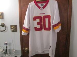 Details about Washington Redskins LaRon Landry #30 Reebok On Field White Jersey Mens Size 52