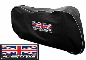 Motorcycle-Motorbike-Indoor-Breathable-Dust-cover-FitsTriumph-765-Street-triple
