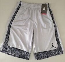 37ffc37ea2b $45 BOY'S NIKE JORDAN ELEMENT DRI-FIT BASKETBALL SHORTS WOLF GRAY L  952487-174