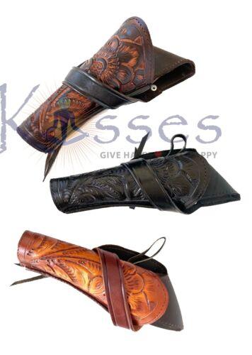 RIGHT DRAW 44//45 Cross Draw Leather Case Revolver Holster Gun Pistol SASS