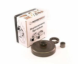 Genuine rotatech ® RIM Ruota Dentata /& Cuscinetto Ad Aghi Kit Per Stihl MS440 Motosega