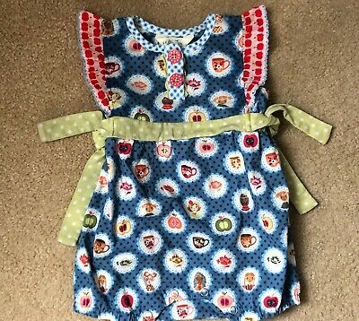 NEW IN BAG MATILDA JANE Teachers Pet Blue Romper Baby Girl Size 3-6 Months