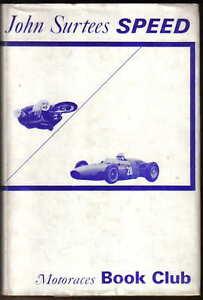 Speed-by-John-Surtees-Motoraces-Book-Club-No-7-1964-Car-amp-Motorcycle-racing