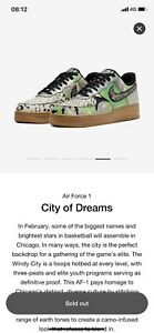 Nike Air Force 1 Low City of Dreams UK 7.5 édition spéciale