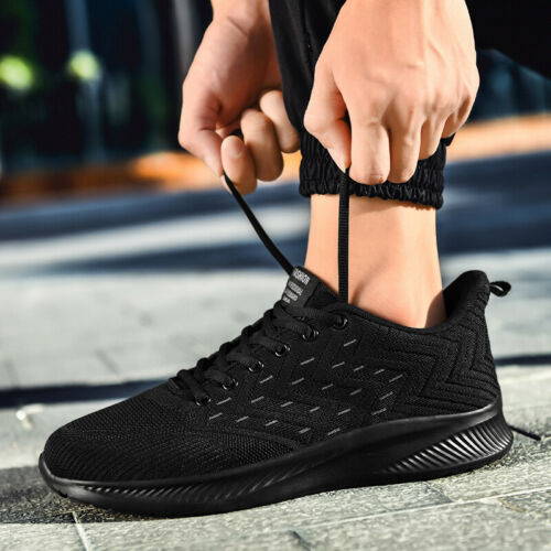 Running Shoes For Men/'s Breathable Mesh Sneakers Outdoor Jogging Walking Tennis