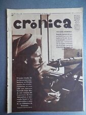 REVISTA CRÓNICA REVOLUCIÓN ASTURIAS CATALUÑA 28/10/1934 CALATORAO