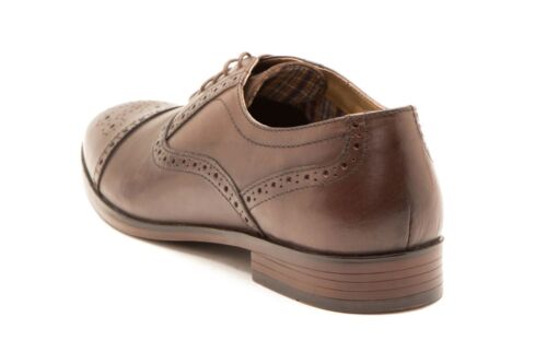 Shoes Up Red Hartwell 786 Brown Brogue Leather Tape Mens Lace U70B6q