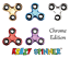 Chrome Bangers doigt Spinner main Focus Ultimate SPIN ACIER EDC portant Stress