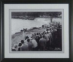 Ben-Hogan-1951-at-Pebble-Beach-Framed-Golf-Photo-11x14-or-16x20