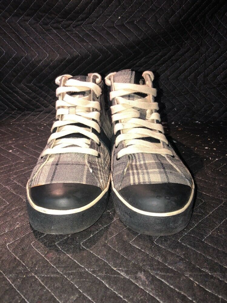 Black And White Vans High Top Size 12D 816113010CDZ