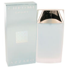 Chrome Sport By Azzaro 3.3oz/100ml Edt Spray For Men New In Box