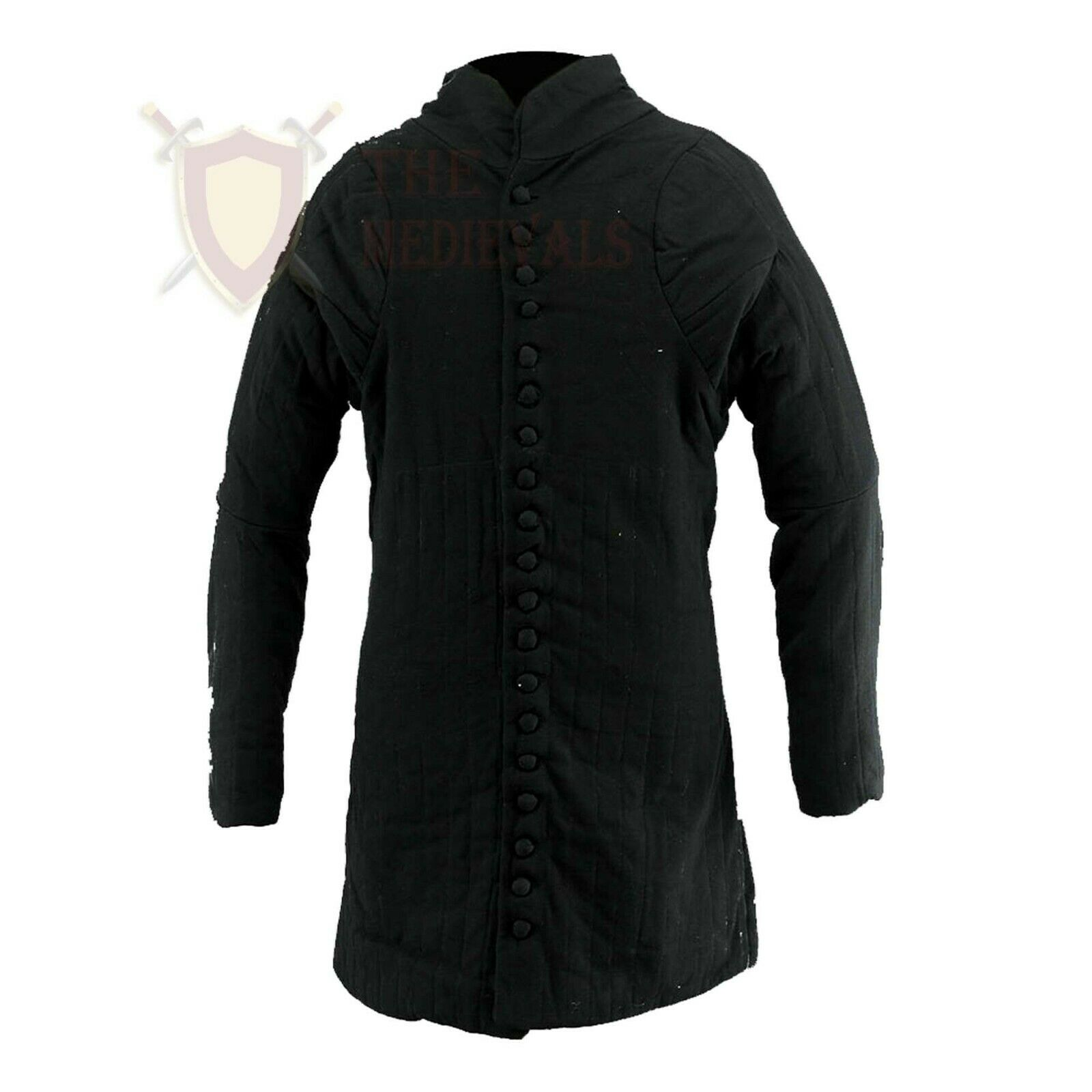 THE MEDIEVALS Full Length Jacket Aketon Armor Thick Padded Coat Gambeson Costume