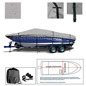 Details about Tahoe 202 Trailerable deck boat I/O Deckboat Storage Cover