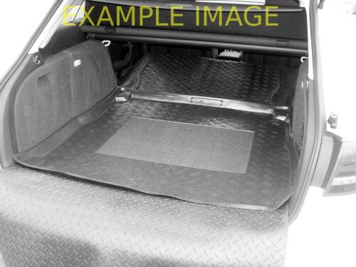 Skoda Superb estate 09-15 LDPE boot tray rubber load liner mat bumper protector