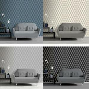 Debona-Ariana-Mordern-Glitter-Trellis-Retro-10m-Wallpaper-4-Colours