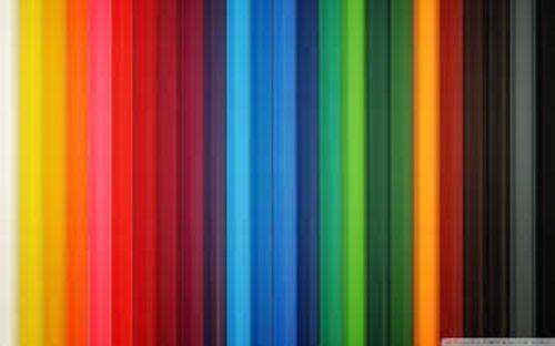 100 découpis Papier Bandes en différentes couleurs - 3 mm Large