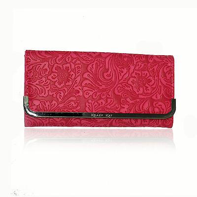 Hydes Stylish Women's girls ladies clutch wallet trendy smart cute purse Pink