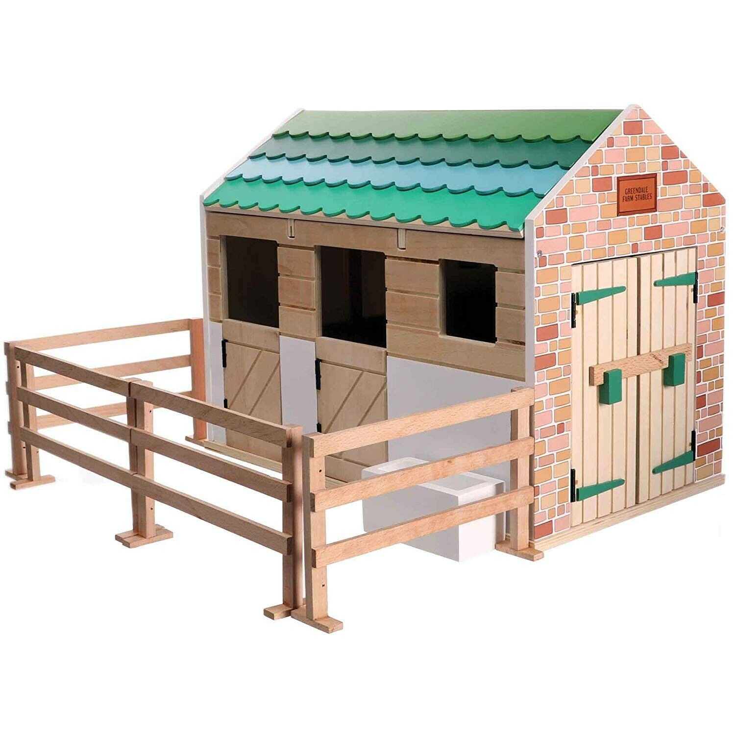 BIGJIGS LOTTIE Doll Pony STABLE WOODEN Toy EMPOWERING GIRLS 3 YEARS+ NEW