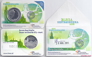 EERSTE-DAG-UITGIFTE-5-EURO-NEDERLAND-2013-034-HET-VREDESPALEIS-VIJFJE-034
