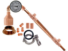 DIY Pot Still Kit Copper Pipe Moonshine Distilling Fits Beer Keg or Robobrew