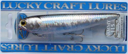 Bait Pike Lucky Craft Sammy 115F Japan Wobbler Trout Fishing Predators