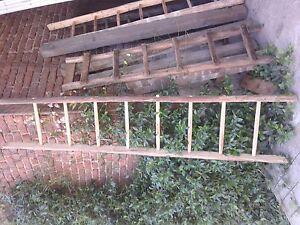 Scaletta In Legno Antica : Antica vecchia scala legno pioli cascina fienile ornamentale ebay