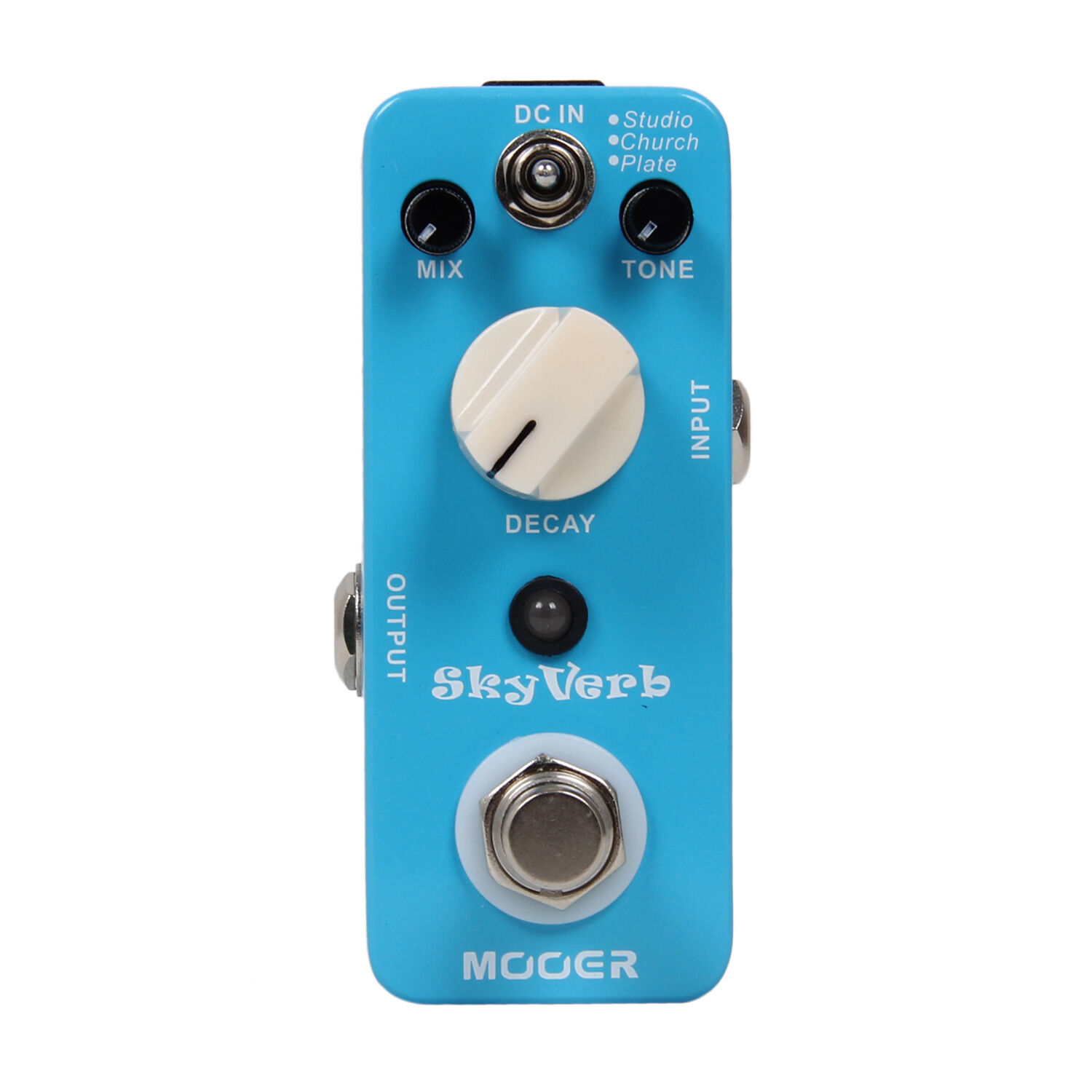 Mooer Audio Skyverb Electric Guitar Reverb Effect Pedal - Brand New