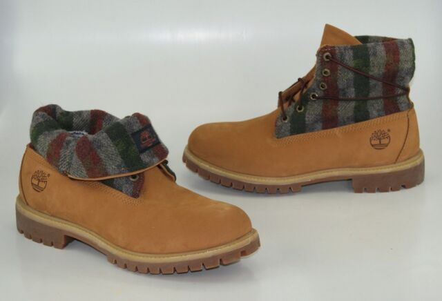 los angeles 8e54a 80b30 Timberland Roll Top 6 Inch Boots Size 44 US 10 Winter Men's Lace up Boots  6924R