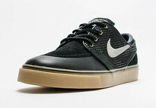 MENS Nike SB Zoom Stefan Janoski PR SE Black Gum Skate Shoes UK 6.5 EU40 US7.5