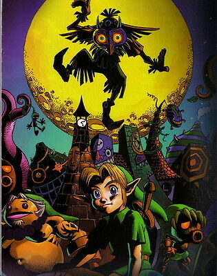 """018 The Legend of Zelda Majoras Mask Majora s Hot Video Game 22/""""x14/"""" Poster"""