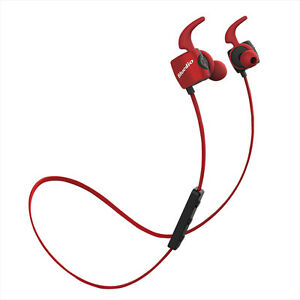Genuine Bluedio TE In Ear Wireless Headphones Earphones Bluetooth Headset Red