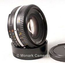 Nikon 50mm f1.8 Manual Focus Ai-s Lens. OK for Nikon Digital SLR. Others Listed.