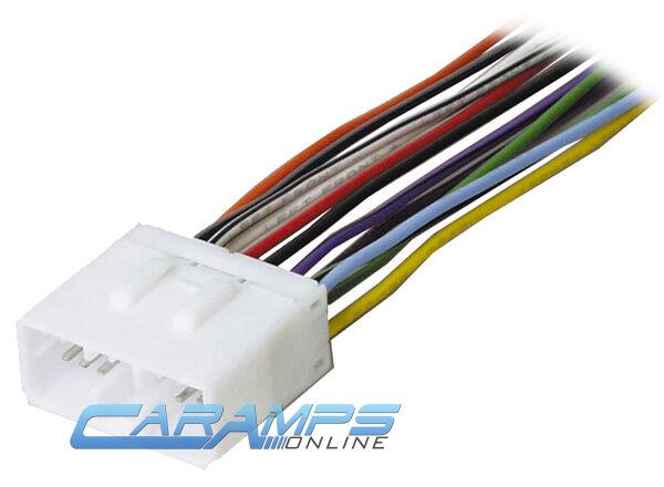 subaru car stereo wiring harness wire adapter plug swh 924 scosche rh ebay com