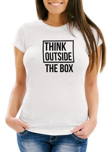 Señora T-Shirt think outside the box slim fit moonworks ®