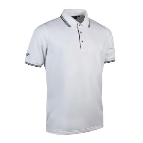 Glenmuir Mens Tipped Short Sleeve Moisture Wicking Polo Shirt PC2407