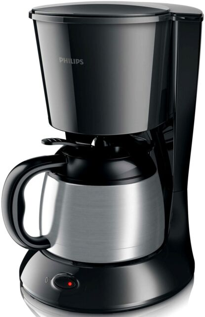 Philips HD7472 20 Daily Serie Thermo Kanne Kaffeemaschine 1000W 0,9L Edelstahl