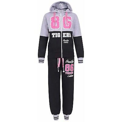 NEW WOMENS LADIES HOODED FLEECE JOGGING FULL TRACKSUIT TOP BOTTOM SIZE 16-24