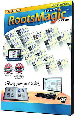 RootsMagic Version 7 UK Standard Edition (Genealogy Software)